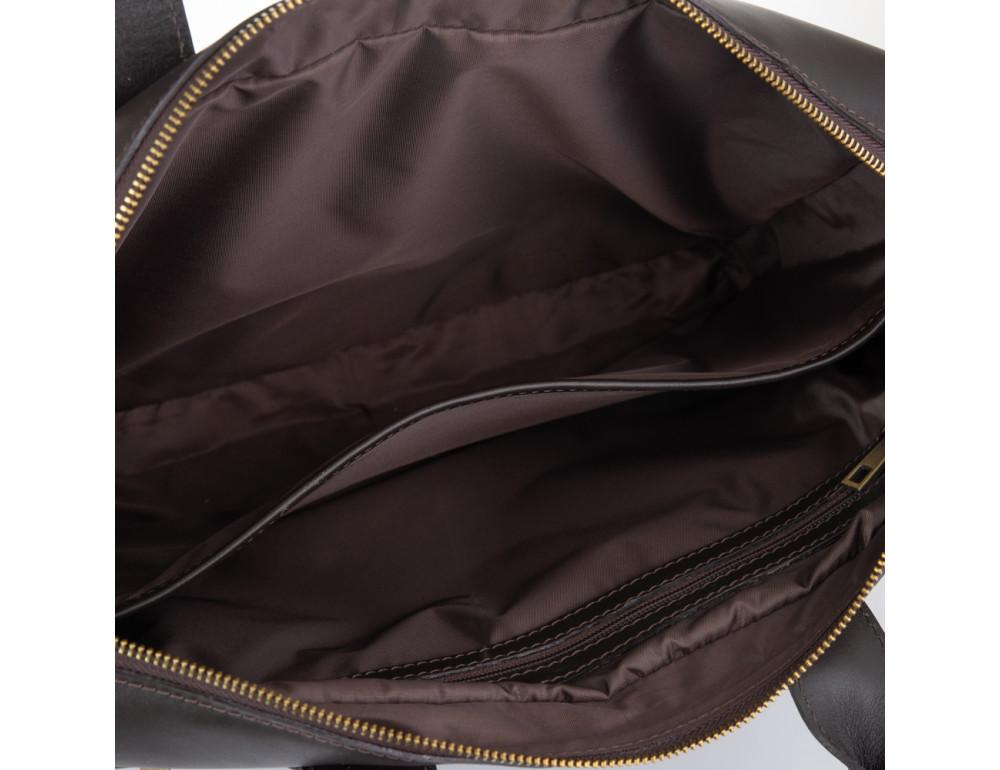 Брендовая кожаная сумка под документы NEWERY N1930GC - Фото № 6