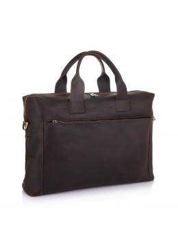 Коричневая сумка из винтажной кожи NEWERY N1930KC