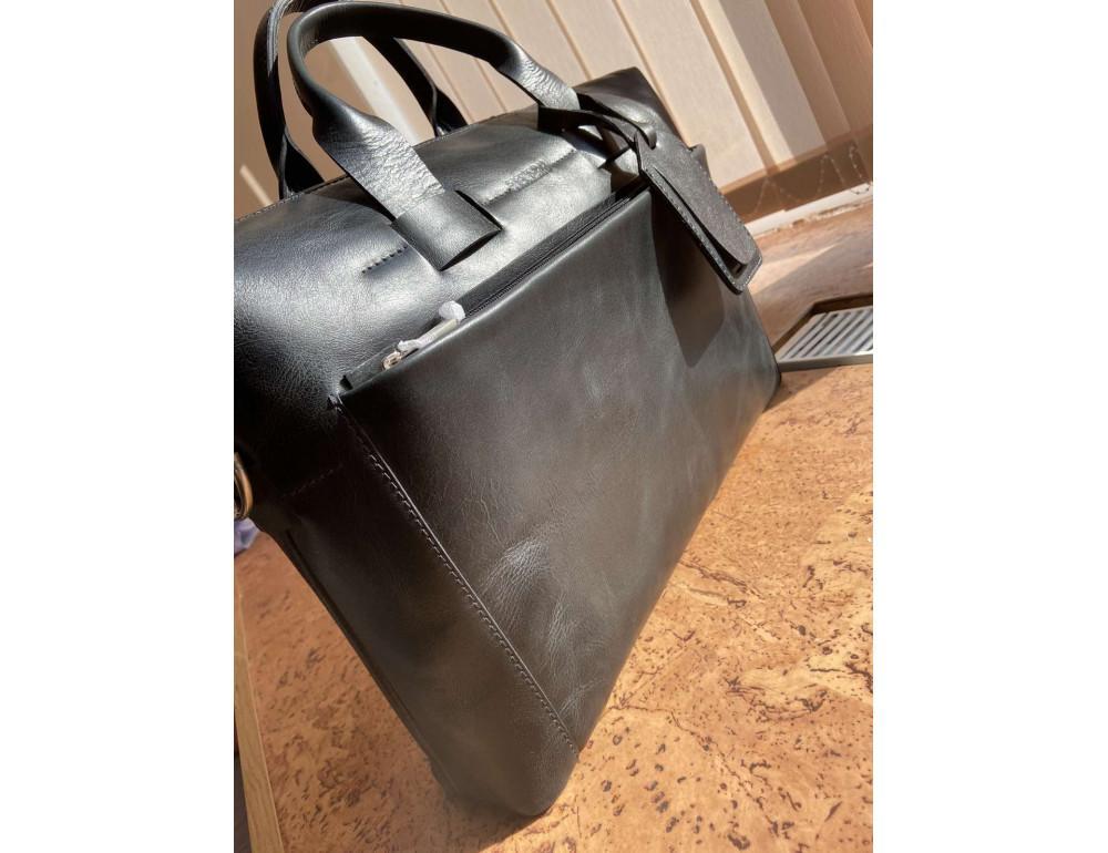 Стильна чоловіча шкіряна сумка Newery N1930NA - Фотографія № 2