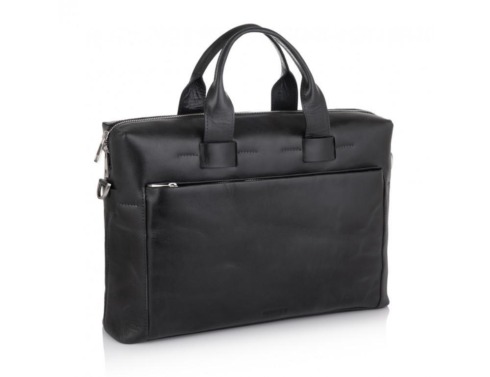 Стильна чоловіча шкіряна сумка Newery N1930NA - Фотографія № 1