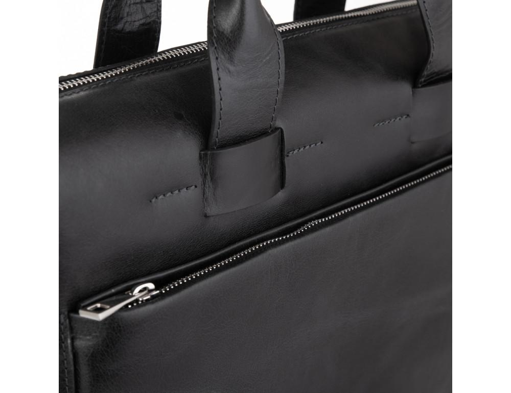 Стильна чоловіча шкіряна сумка Newery N1930NA - Фотографія № 4