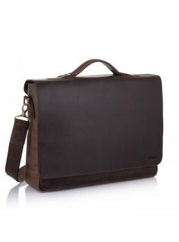Велика шкіряна сумка через плече Newery N1960KC