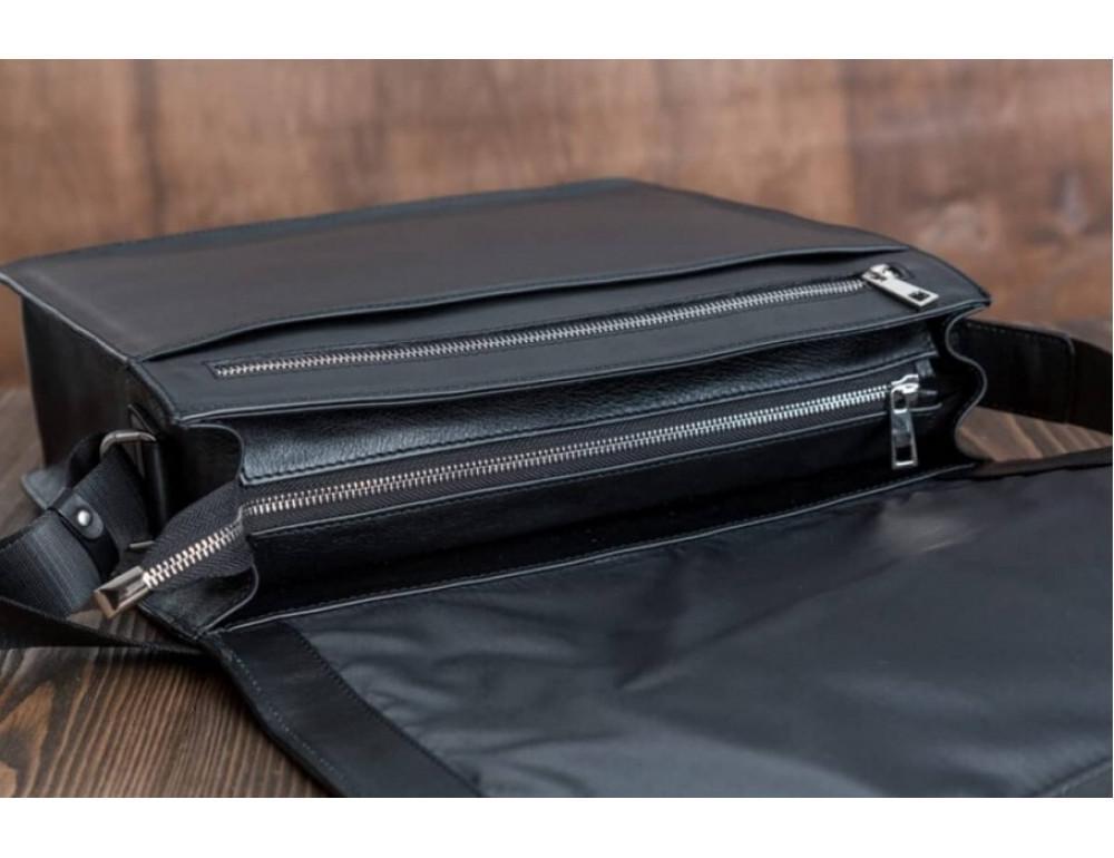 Большая классическая сумка через плечо Newery N1990GA - Фото № 3