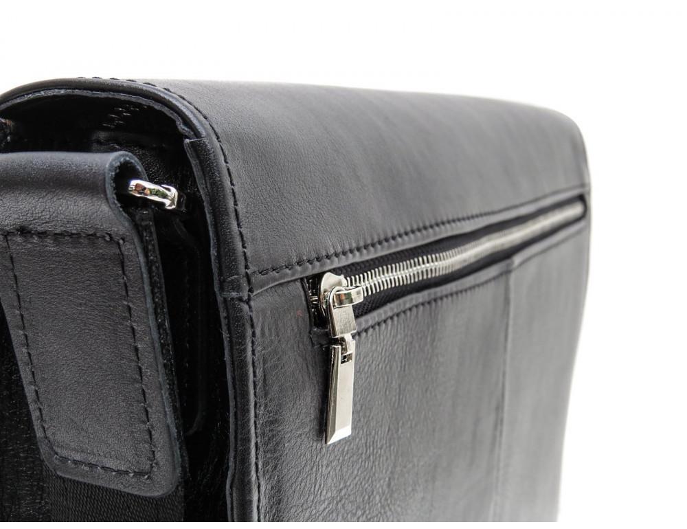 Большая классическая сумка через плечо Newery N1990GA - Фото № 6