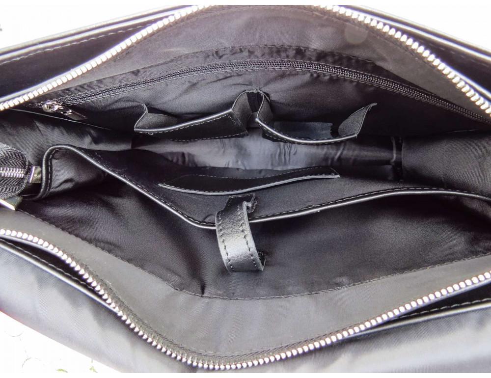 Большая классическая сумка через плечо Newery N1990GA - Фото № 9