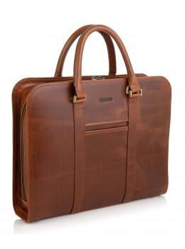 Рыжий кожаный портфель на 13 дюймов Newery N1992GC