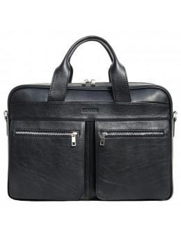 Чорна ділова чоловіча сумка Newery N4032GA