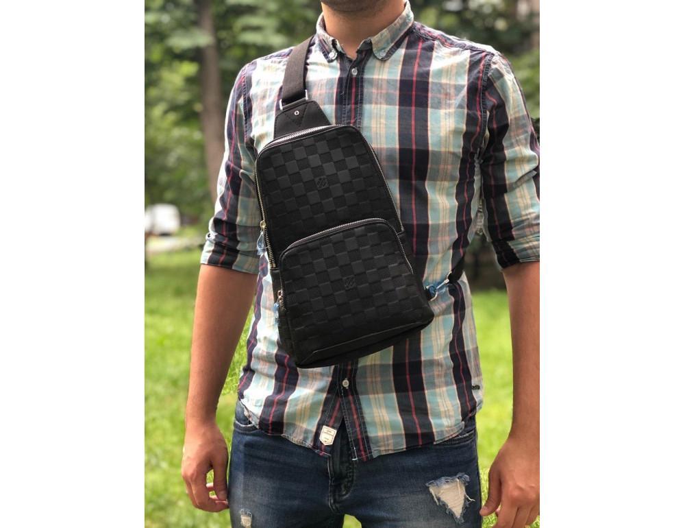 Мужской рюкзак Louis Vuitton N41720 чёрный - Фото № 2