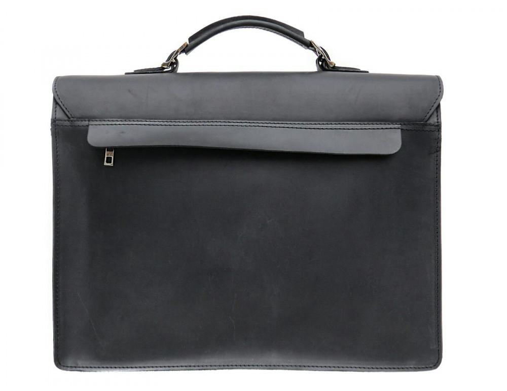 Большой мужской портфель из лошадиной кожи Newery N7164KA - Фото № 2