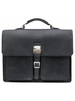Большой мужской портфель из лошадиной кожи Newery N7164KA