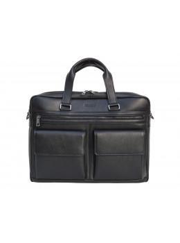 Мужская кожаная сумка на два отделения большого размера Newery N7526GA