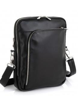 Молодёжная кожаная сумка через плечо Newery N7788GA