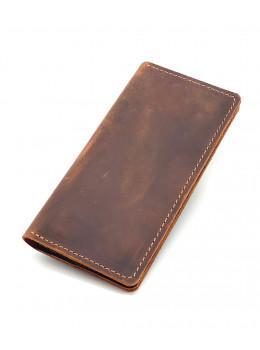 Мужской портмоне из лошадиной кожи Crazy Hourse Newery N8047KK