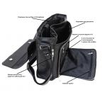 Большая мужская сумка через плечо Newery N8128KA - Фото № 109