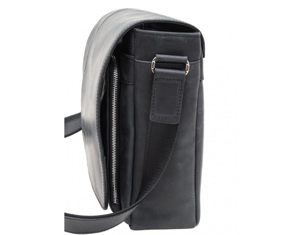Большая мужская сумка через плечо Newery N8128KA - Фото № 4