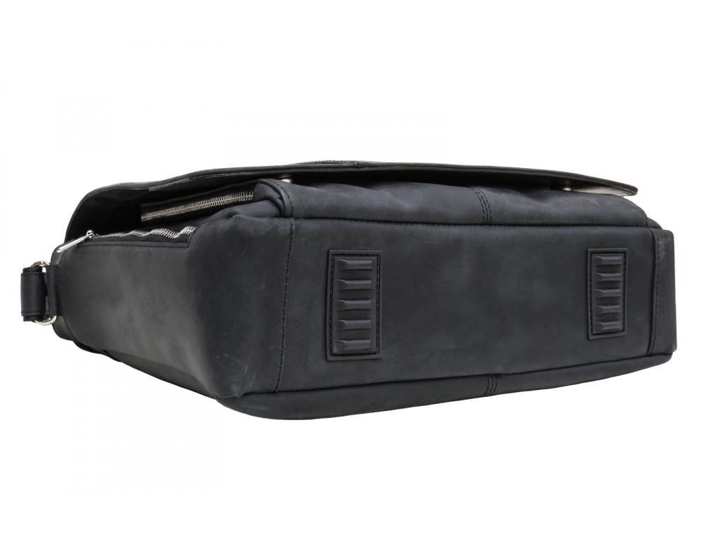 Большая мужская сумка через плечо Newery N8128KA - Фото № 5