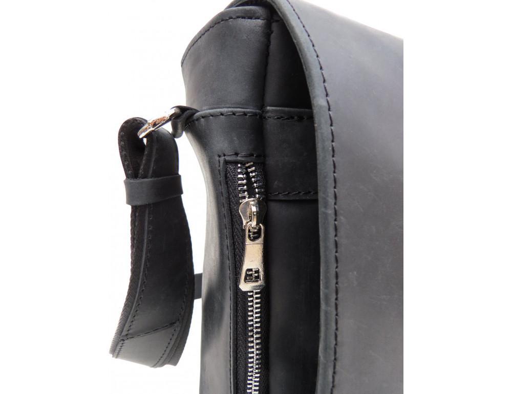 Большая мужская сумка через плечо Newery N8128KA - Фото № 6