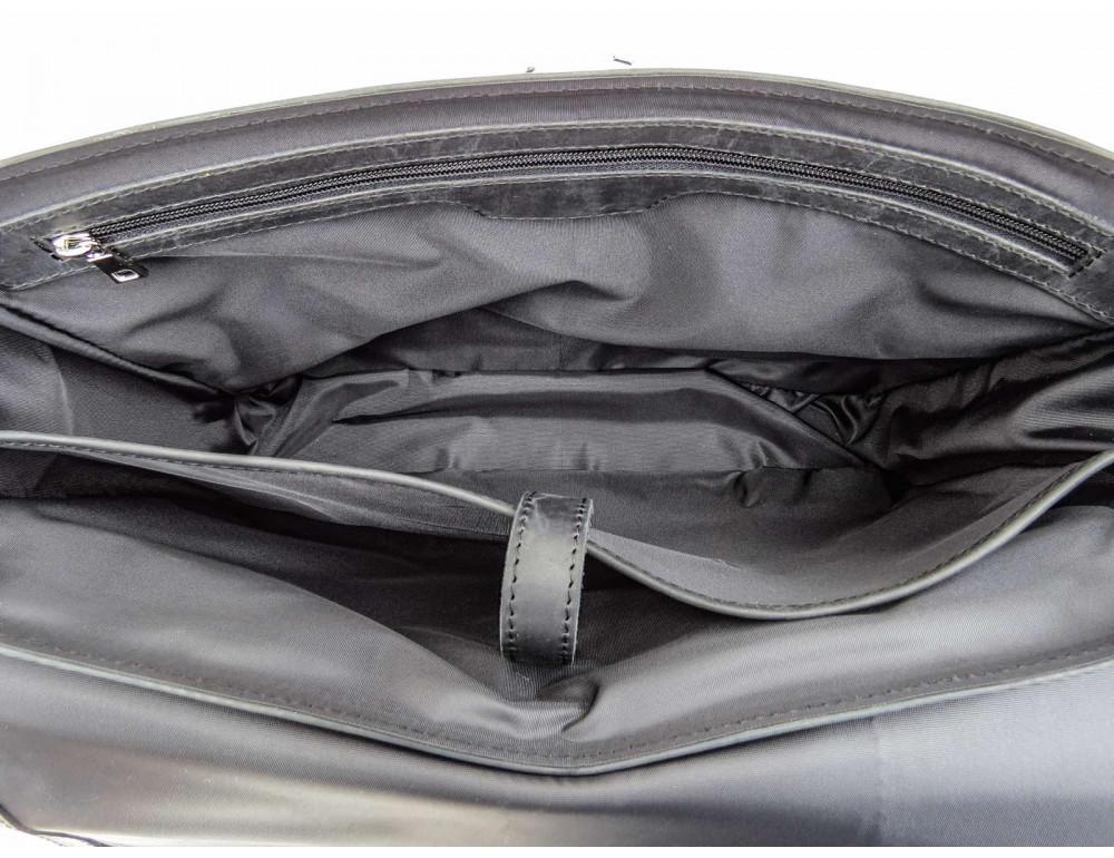 Большая мужская сумка через плечо Newery N8128KA - Фото № 8
