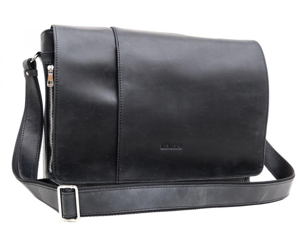 Большая мужская сумка через плечо Newery N8128KA