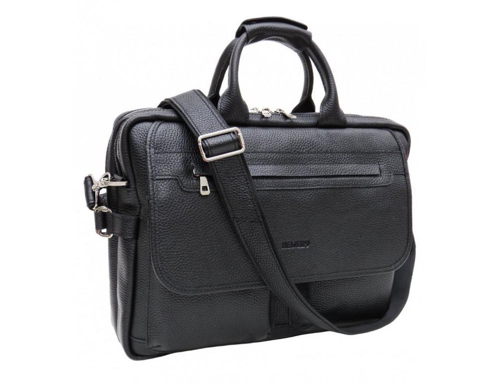 Мужской портфель в зернитстой коже Newery N9523FA