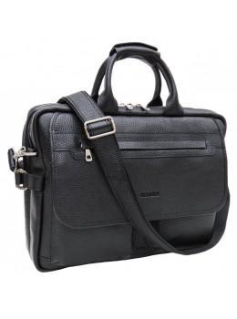 Чоловічий портфель в зернистой шкірі Newery N9523FA