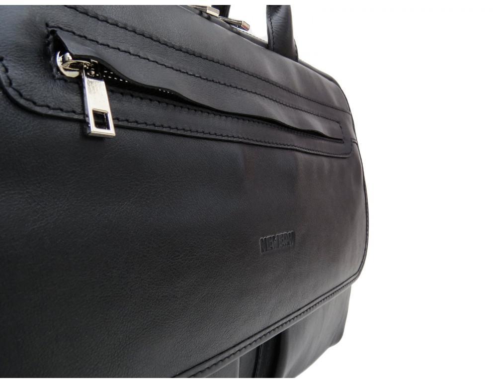 Мужской кожаный портфель Newery N9523GA - Фото № 8