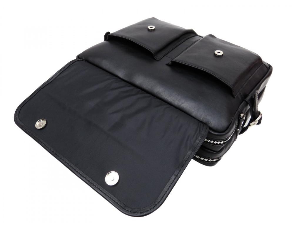 Мужской кожаный портфель Newery N9523GA - Фото № 9