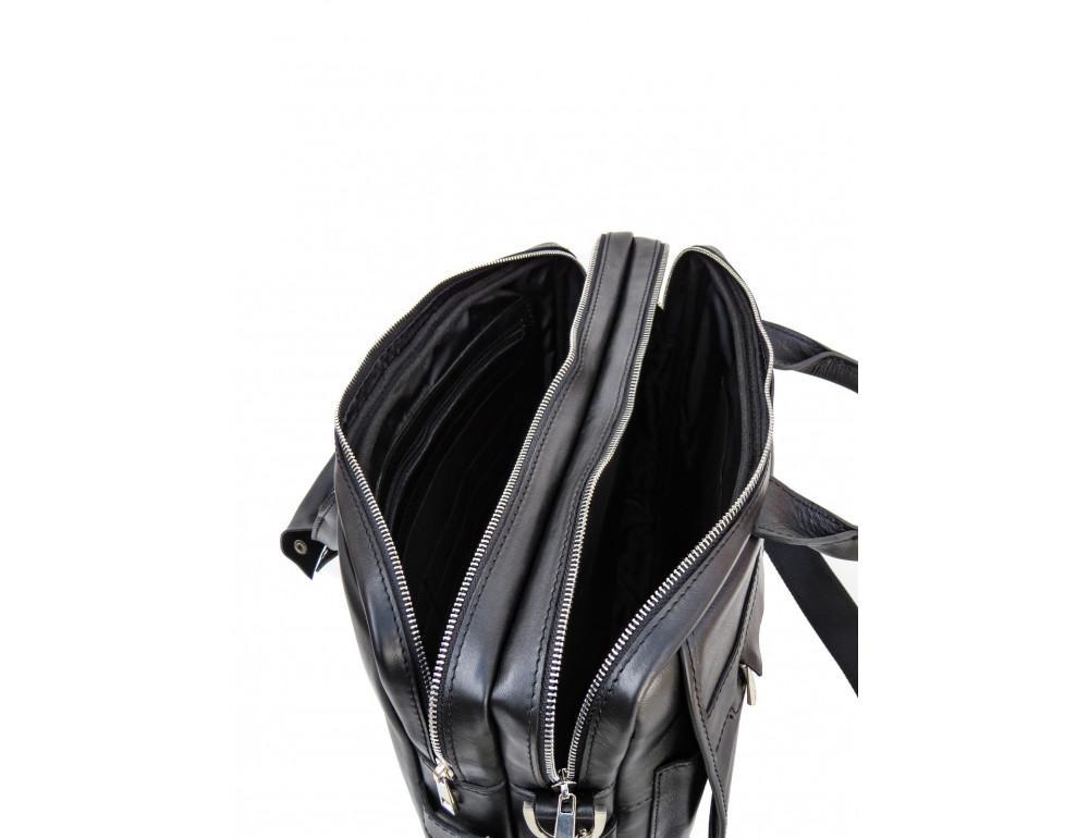 Мужской кожаный портфель Newery N9523GA - Фото № 10