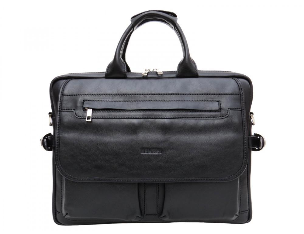Мужской кожаный портфель Newery N9523GA - Фото № 13
