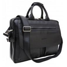 Мужской кожаный портфель Newery N9523GA