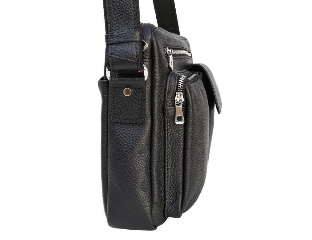 Молодёжная кожаная сумка через плечо Newery N9812FA - Фото № 3