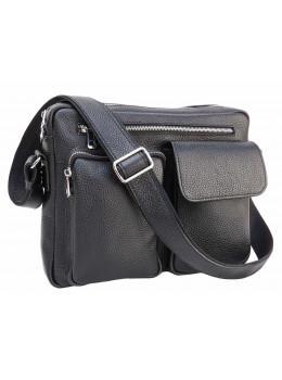 Молодёжная кожаная сумка через плечо Newery N9812FA