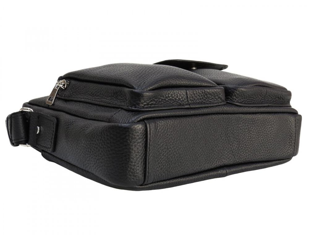 Молодёжная кожаная сумка через плечо Newery N9812FA - Фото № 4