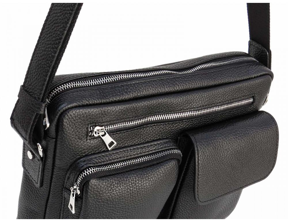 Молодёжная кожаная сумка через плечо Newery N9812FA - Фото № 5