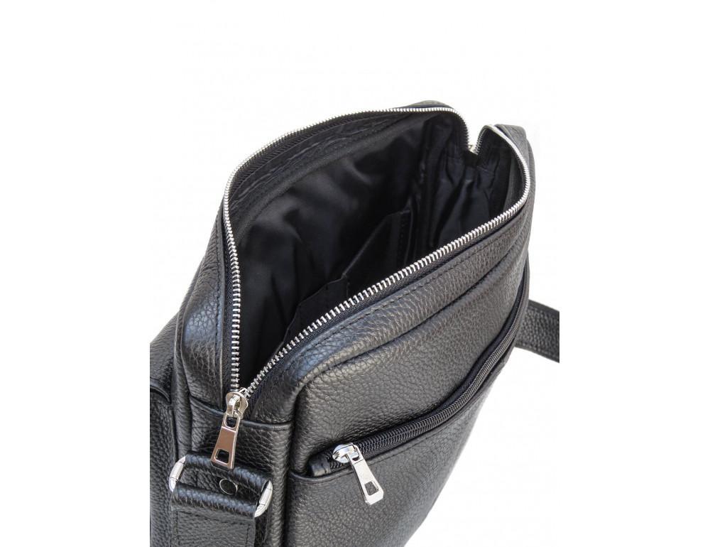 Молодёжная кожаная сумка через плечо Newery N9812FA - Фото № 6