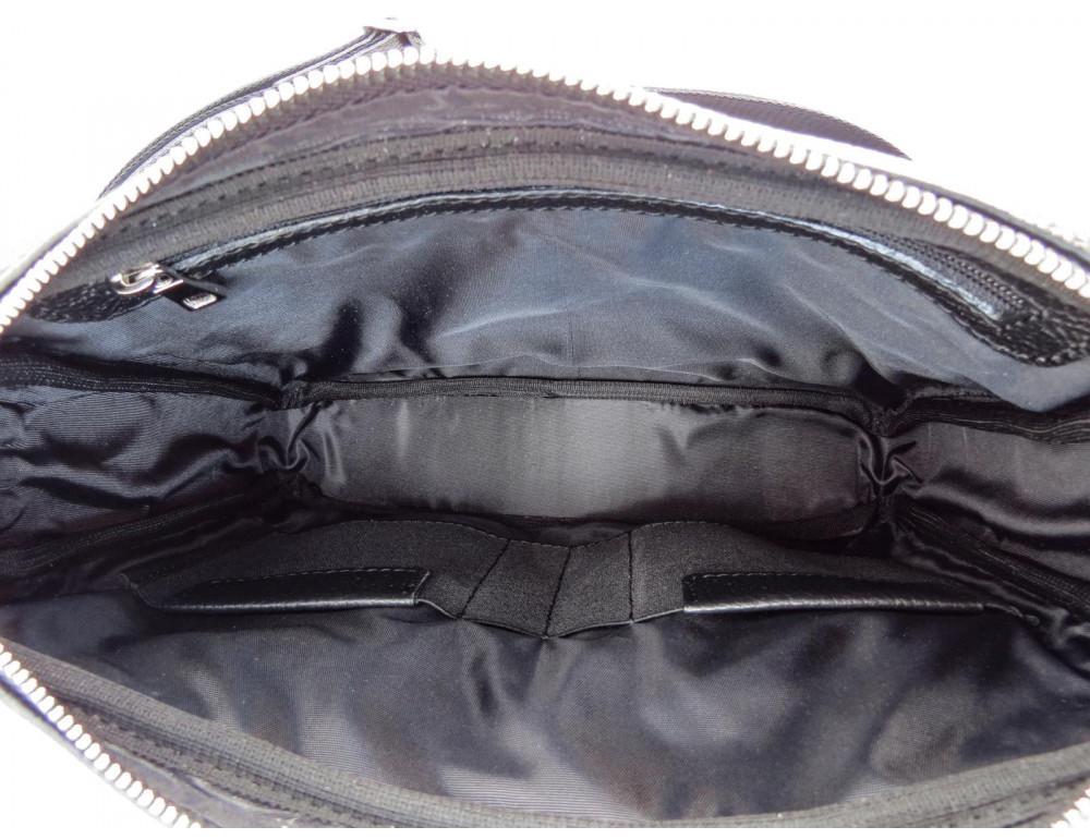 Молодёжная кожаная сумка через плечо Newery N9812FA - Фото № 7