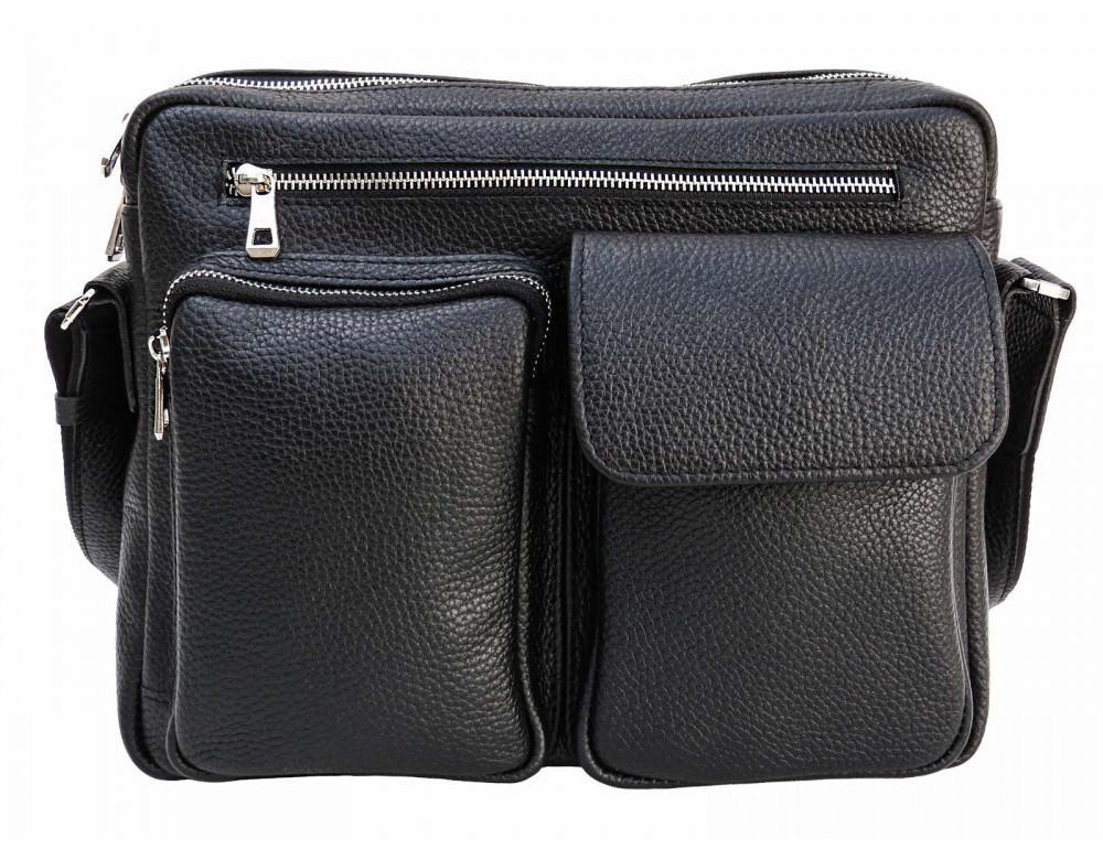Молодёжная кожаная сумка через плечо Newery N9812FA - Фото № 8