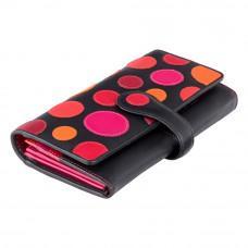 Кожаный женский кошелек Visconti P2 BERRY Neptune c RFID (Verry Berry)