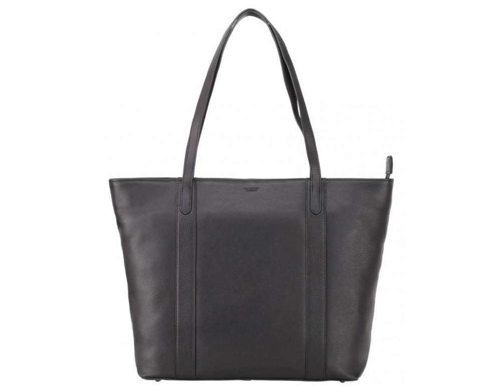 Чорна жіноча сумка Visconti PLT20 BLK Sophia 13 Laptop - Фотографія № 1