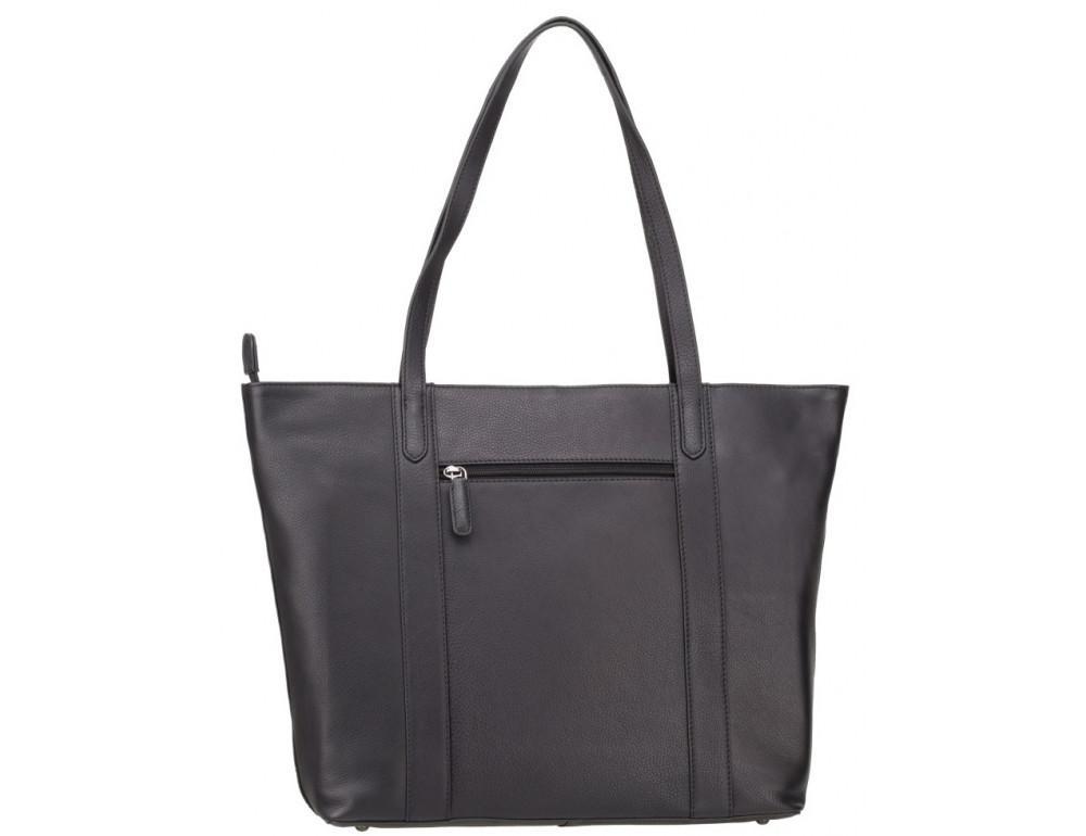 Чорна жіноча сумка Visconti PLT20 BLK Sophia 13 Laptop - Фотографія № 4