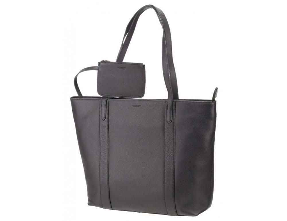 Чорна жіноча сумка Visconti PLT20 BLK Sophia 13 Laptop - Фотографія № 5