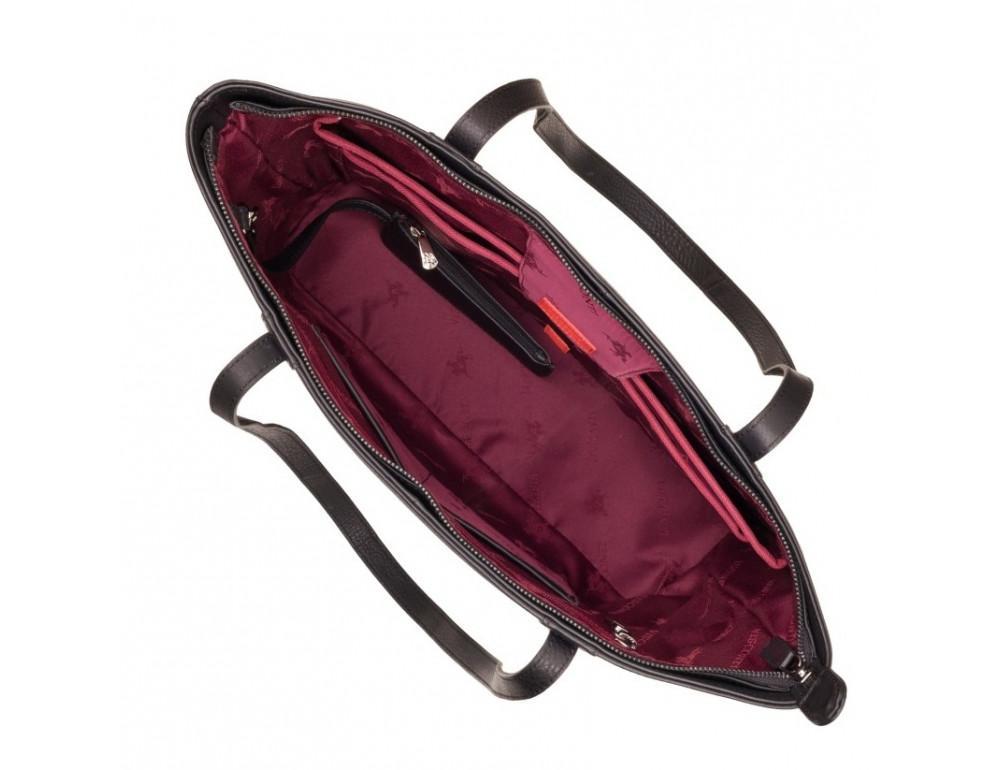 Чорна жіноча сумка Visconti PLT20 BLK Sophia 13 Laptop - Фотографія № 7