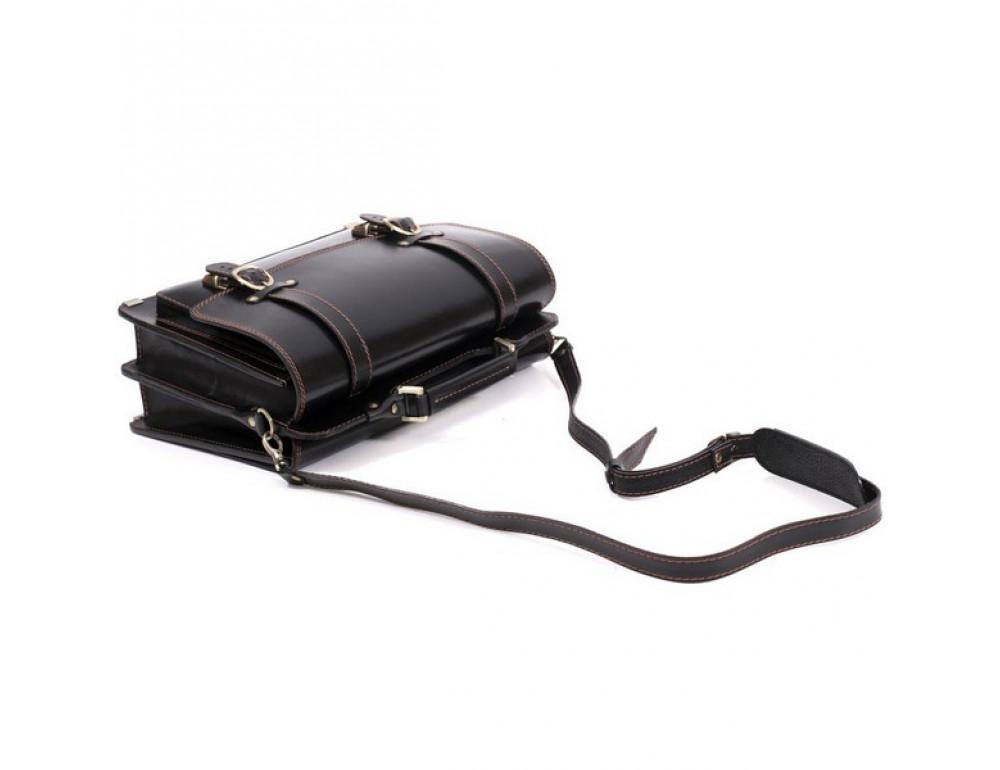 Черный портфель мужской Manufatto СПС-4 AC - Фото № 3