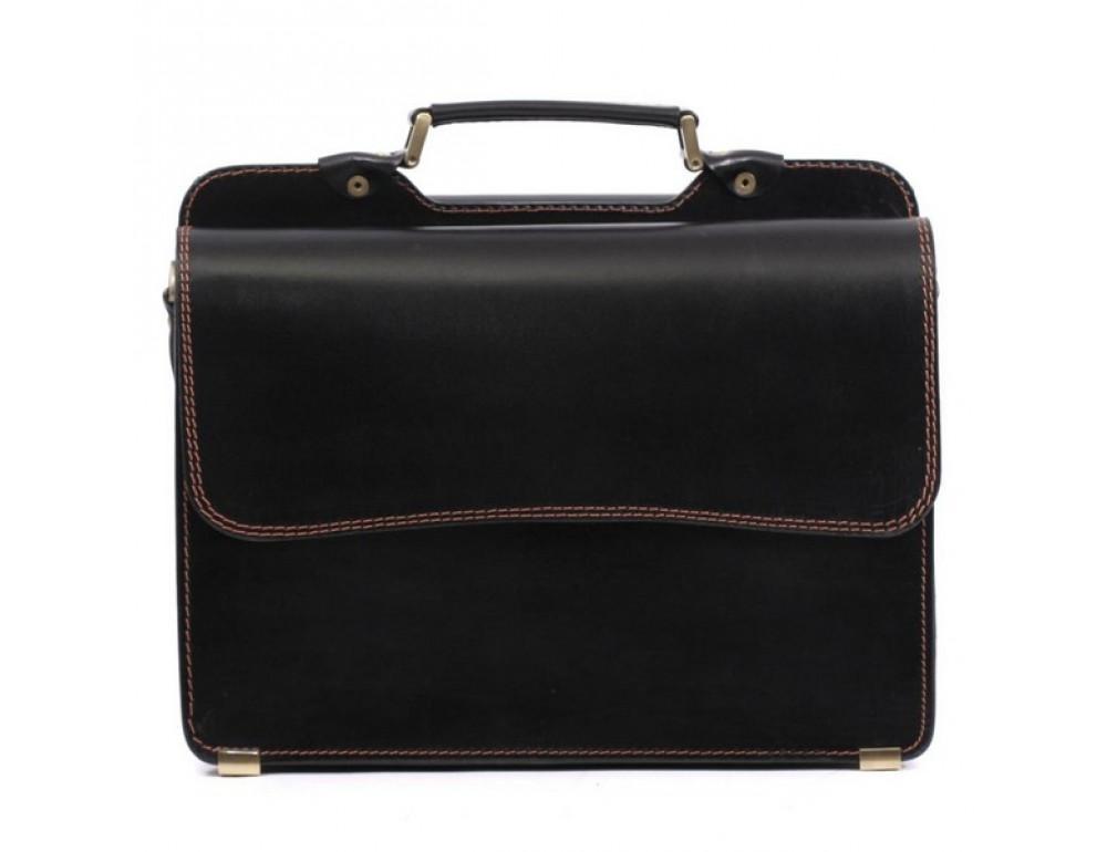Черный портфель мужской Manufatto СПС-4 AC - Фото № 5
