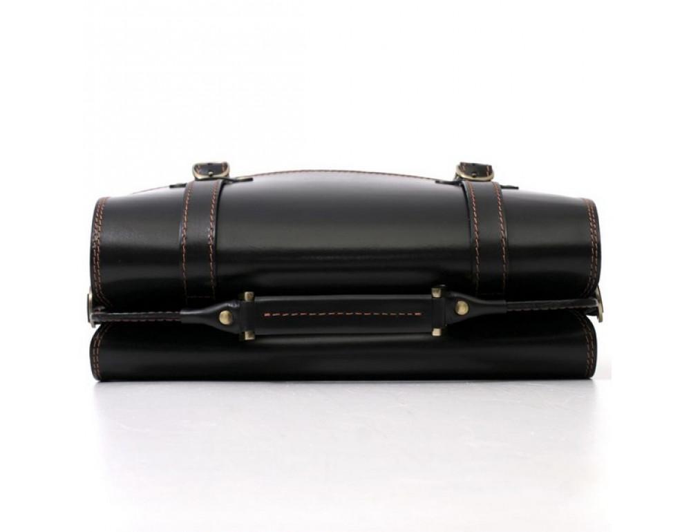 Черный портфель мужской Manufatto СПС-4 AC - Фото № 6