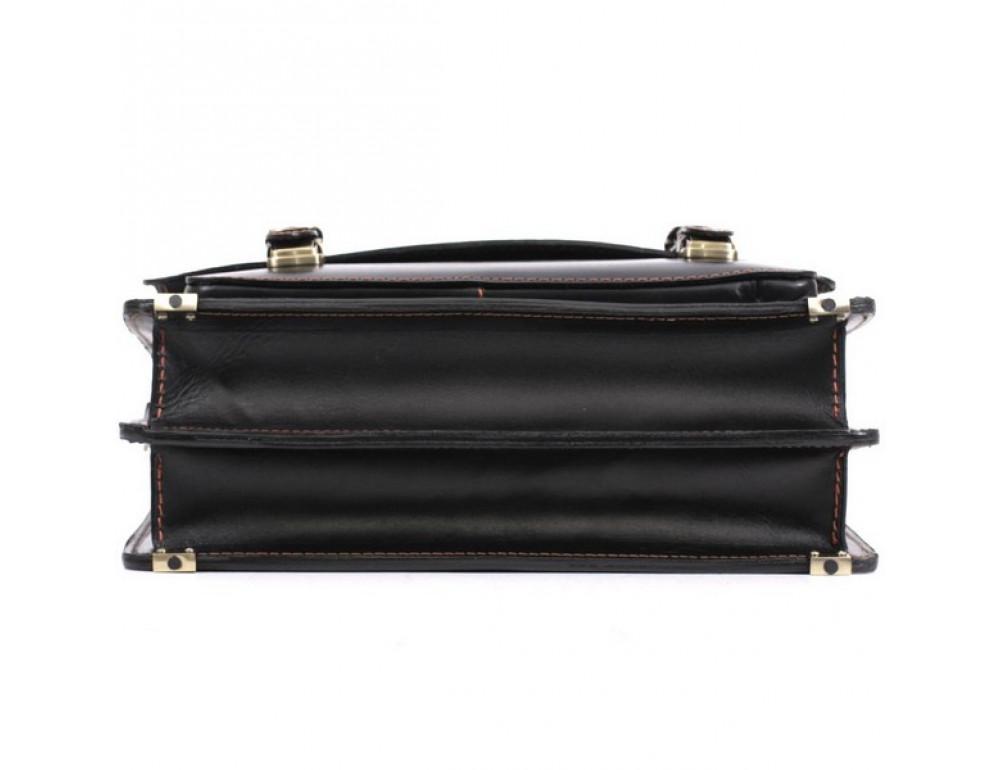 Черный портфель мужской Manufatto СПС-4 AC - Фото № 7