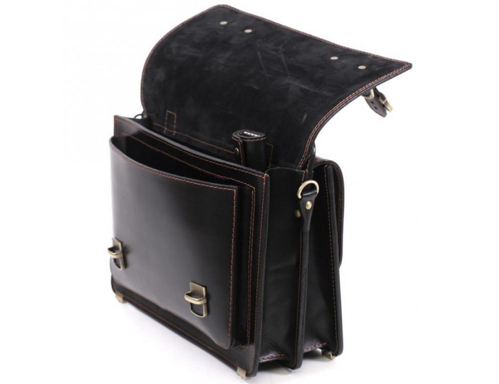 Черный портфель мужской Manufatto СПС-4 AC - Фото № 8