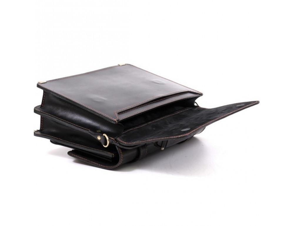 Черный портфель мужской Manufatto СПС-4 AC - Фото № 10