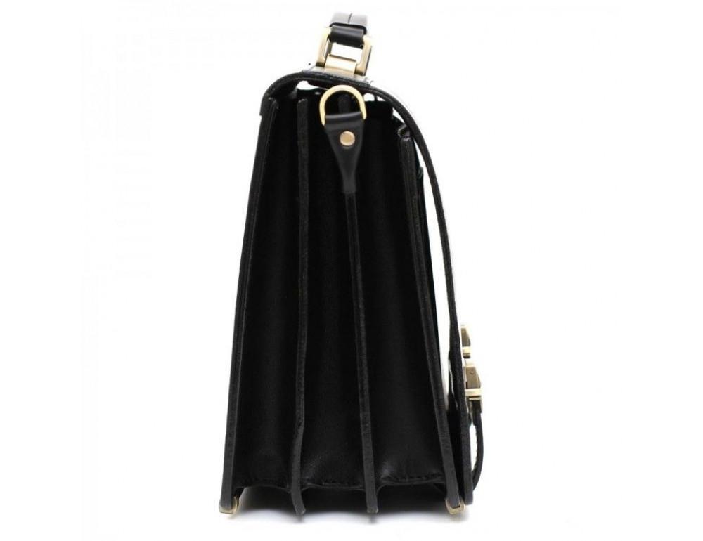 Чёрный каркасный портфель мужской Manufatto ТМ-1 - Фото № 3