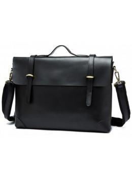 Мужской кожаный портфель TIDING BAG 7082A
